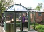 My new green greenhouse