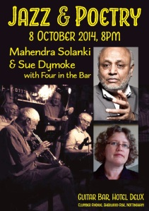 Join us for Jazz & Poetry